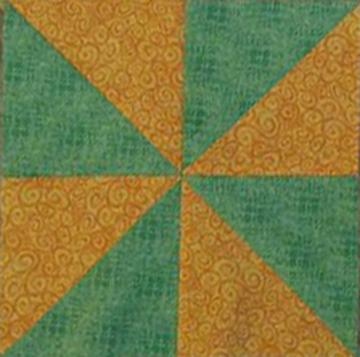 pinwheel-block-of-month-greenandyellow