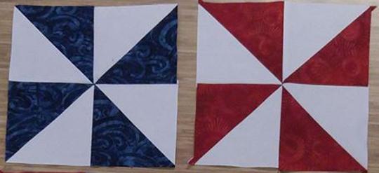 pinwheel-block-of-month-redandblue